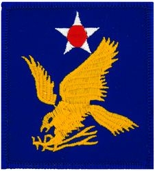 2nd Air Force Small Patch (3 inch)