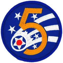 5th Air Force Small Patch (3 inch)