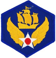 6trh Air Force Small Patch (3 inch)