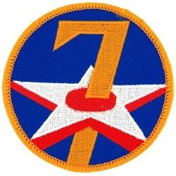 7th Air Force Small Patch (3 inch)