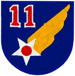 11th Air Force Small Patch