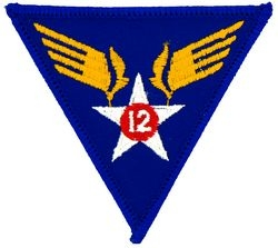 12th Air Force Small Patch (3 inch)