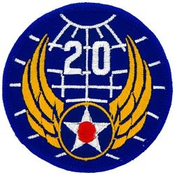 20th Air Force Small Patch (3 inch)