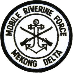 Mobile Riverine Force Mekong Delta Small Patch (3 inch)
