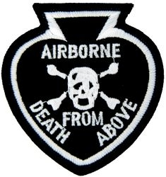 Airborne Death From Above Small Pin (3 inch)