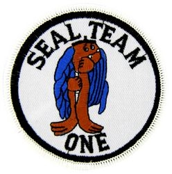 Seal Team 1 Small Patch (3 inch)