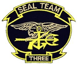 Seal Team 3 Small Patch (3 inch)