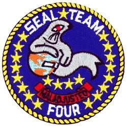 Seal Team 4 Small Patch (3 inch)