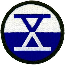 10th Corps Small Patch (2 1/2 inch)