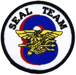 Seal Team 8 Small Patch (3 inch)