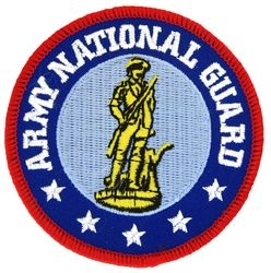 Army National Guard Small Patch (3 inch)