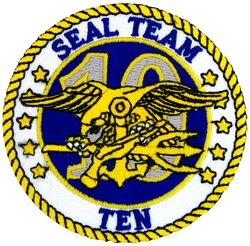 Seal Team 10 Small Patch (3 inch)