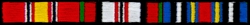 Afghanistan Ribbons Small Patch (2 1/2 inch)