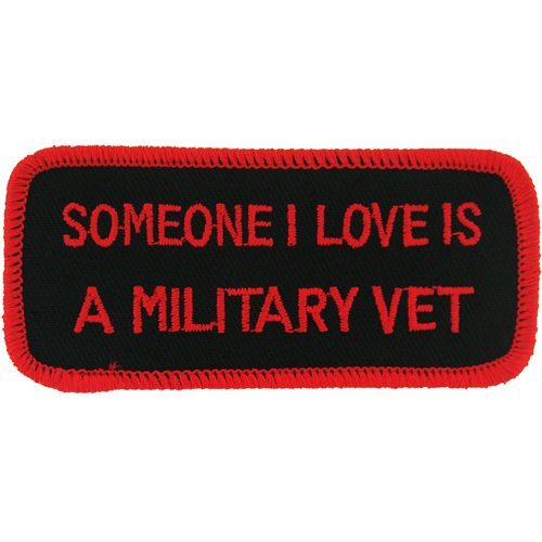 "Someone I Love Is A Military Vet (3.5"") (2 1/2 inch)"