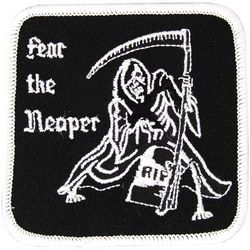 Fear the Reaper Small Patch (3 inch)