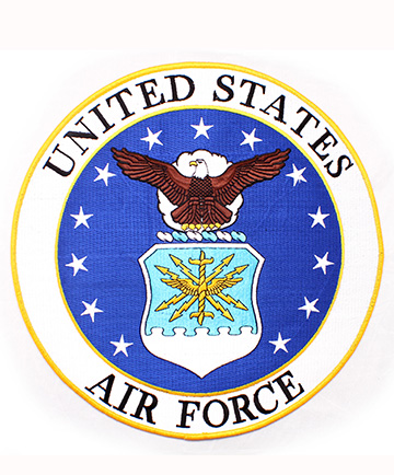 "United States Air Force Back Patch (10 "")"