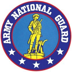 "Army National Guard Back Patch (10"" diameter)"