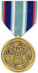 Air and Space Campaign Anodized Full Size Medal
