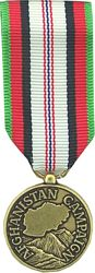 Afghanistan Campaign Mini Medal