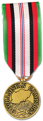 Afghanistan Campaign Anodized Mini Medal