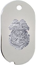 Army Military Police (MP) Dog Tag Necklace