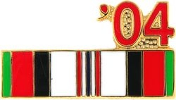 2004 Afghanistan Ribbon Pin (7/8 inch)