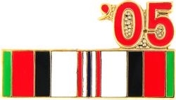 2005 Afghanistan Ribbon Pin (7/8 inch)
