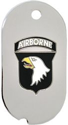 101st Airborne Division Dog Tag Necklace