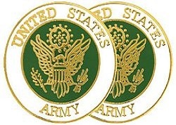 United States Army Insignia Cuff Links