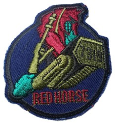 Air Force 7319TH Red Horse Civil Engineer (sew on)