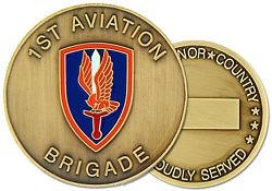1st Aviation Brigade Challenge Coin (38MM inch)
