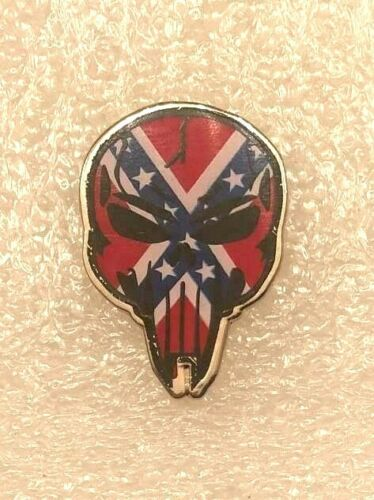 CONFEDERATE PUNISHER PIN