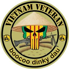 VIETNAM VETERAN DECAL/STICKER #2