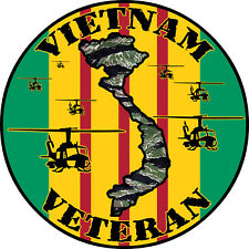 VIETNAM VETERAN DECAL/STICKER #1