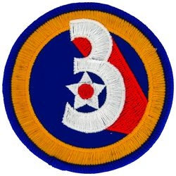 3rd Air Force Small Patch (3 inch)