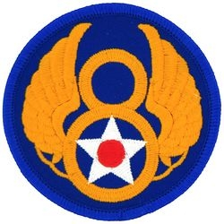 8th Air Force Small Patch (3 inch)