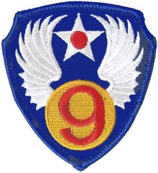 9th Air Force Small Patch (3 inch)