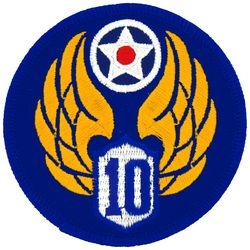 10th Air Force Small Patch (3 inch)