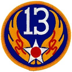 13th Air Force Small Patch (3 inch)