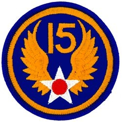 15th Air Force Small Patch (3 inch)