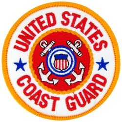 United States Coast Guard Small Patch (3 inch)