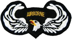 101st Airborne Wings Small Patch (3 inch)