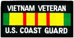 US Coast Guard Vietnam Veteran Small Patch (3 inch)