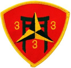 3rd Battalion 3rd Marine Small Patch (3 inch)