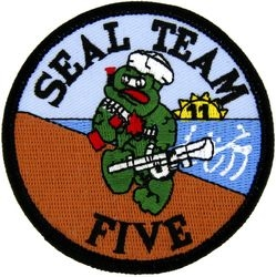 Seal Team 5 Small Patch (3 inch)