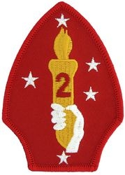 2nd Marine Divison Small Patch (3 inch)