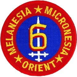 6th Marine Division Small Patch (3 inch)