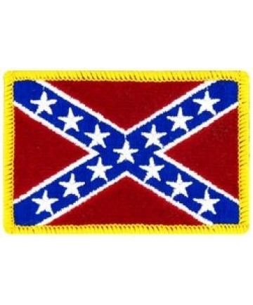 Confederate Flag Small Patch (2 1/2 inch)