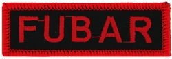 Fubar Small Patch (1 1/2 inch)