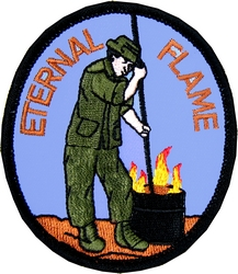 Eternal Flame Small Patch (3 inch)